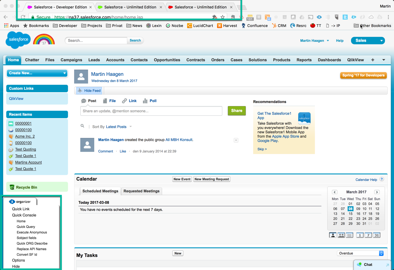 The Top Five Chrome Extensions for Salesforce – MartinHaagen se
