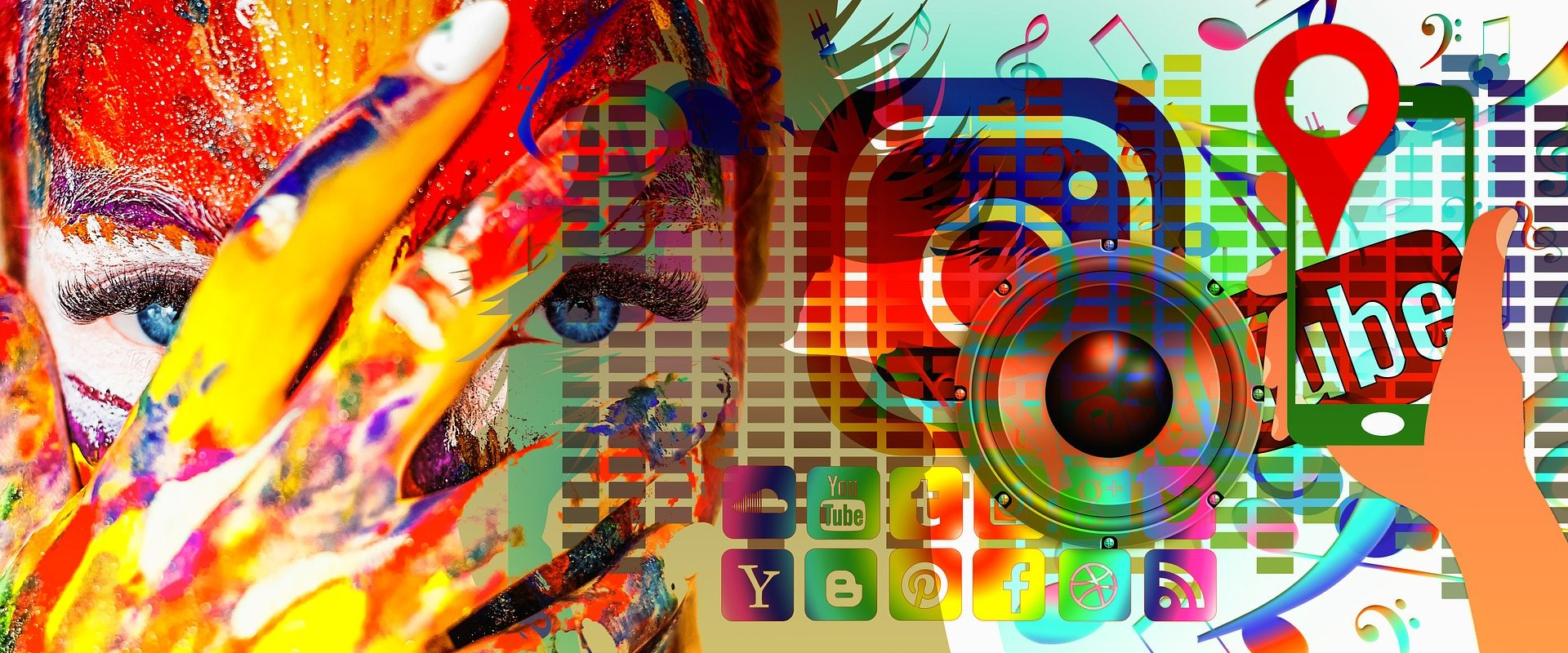 Colorful Social Media picture