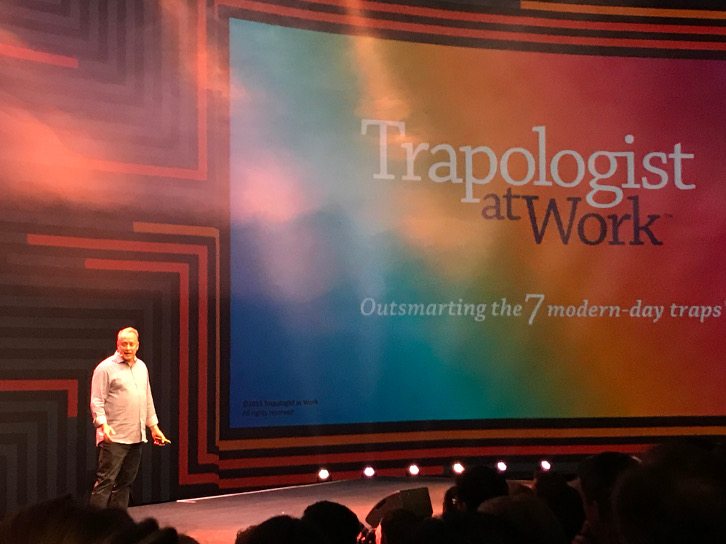 David Covey talking about the 7 modern-day traps